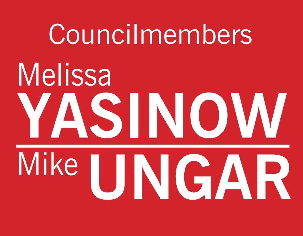 Councilmembers Yasinow Ungar