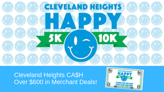 Cleveland Heights Cash - Over $600 in Merchant Deals!