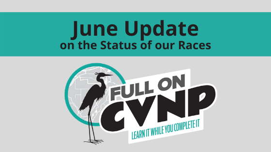 June Update on the Status of our Races