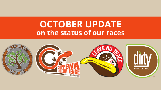 October Update on the Status of our Races