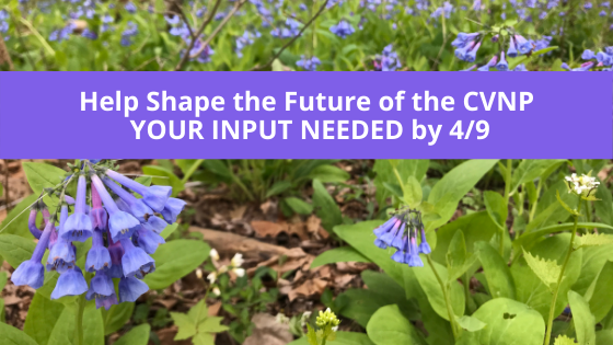 Help Shape the Future of the CVNP