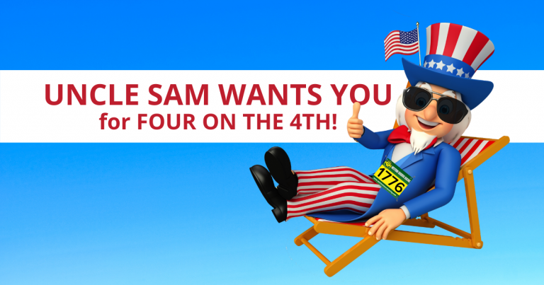Uncle Sam wants You for Four on the 4th!